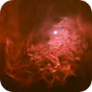 The Flaming Star AE Aurigae, IC 405 starless,                                Patrick Hsieh