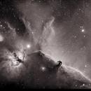 Horsehead Nebula in Ha,                                Mike