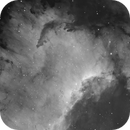 Cygnus Wall and Dark  Nebulae,                                rhedden