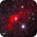 NGC 7635 - Cassiopeia Bubble,                                Rich Sky