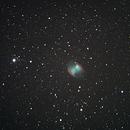 M27 Dumbbell Nebula,                                Tony Garcia