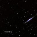 NGC 4244,                                David Holko