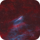 Mysterious colors of the Pencil nebula (NGC 2736),                                Trần Hạ