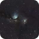 First Light with an AT115 EDT F/7 Triplet Refractor - Imaging M78,                                Kurt Zeppetello