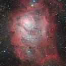 Lagoon Nebula,                                Erik