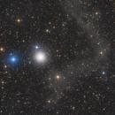 Messier 15 and IFN,                                Bart Delsaert