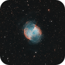 Dumbbell Nebula,                                Maniersch