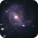 M83 (Southern Pinwheel Galaxy) -- Nikon D5300 & Zenithstar 61II,                                Nick Large