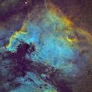 NGC 7000 in Narrowband,                                Josh Lake