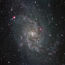 M33 - HaRGB,                                Adam Jaffe