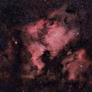NGC7000 - Williams Optics Redcat 51 First Light,                                AstroHawk