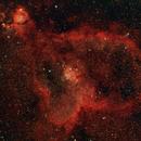 IC1805: The Heart Nebula (2019),                                Daniel Tackley