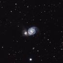 M51 - Whirlpool Galaxy,                                Danake