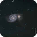Messier 51 LRGB Whirlpool Galaxy,                                Themis Karteris