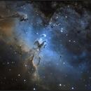 M16 (Ha Oiii  bicolor),                                sky-watcher (johny)