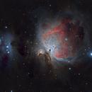 The Orion & Running Man Nebulae (M42 and NCG1977),                                Steve Siedentop