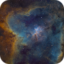 IC 1805 Hubble colors,                                  Jens Zippel