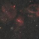A wider look at the Bubble Nebula,                                Robert Huerbsch