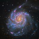 Messier 101 -LRGB,                                Teagan Grable