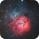 The Trifid Nebula,                                Matt Harbison