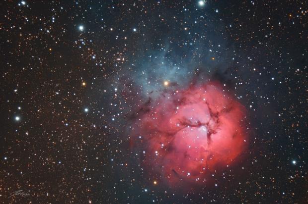 The Trifid Nebula,                                Matt Harbison