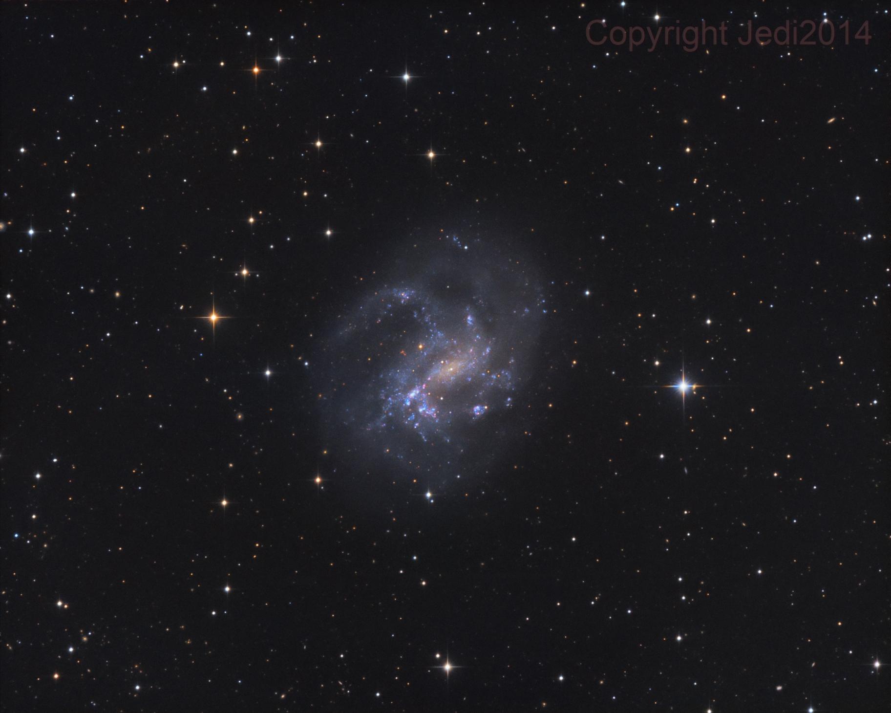 NGC 4395,                                Jens Zippel