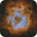 SHO Rosette Nebula,                                Jared Roberts