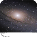 CORE OF M31 - THE ANDROMEDA GALAXY,                                Joe Gilker