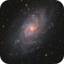 The Starry Triangulum Galaxy (Messier 33),                                Min Xie