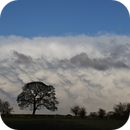 Mammatus cloud over York seen from my observatory,                                Tony Cook