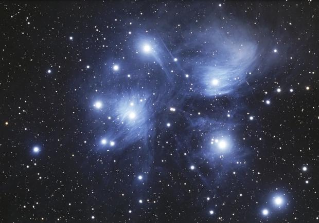 M45 - Pleiades,                                Howie Silleck