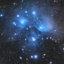 M45 The Pleiades,                                Jarrett Trezzo