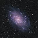 Triangulum Galaxy, M33 (2018),                                Kurt Zeppetello