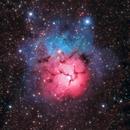Messier 20 - Trifid Nebula,                                Cluster One Observatory