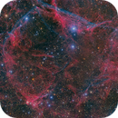 Vela Supernova Remnant 2 panel mosaic,                                Scott M. Stirling