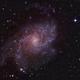 M33 CCD Lum + DSLR Color,                                MLuoto