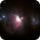 Messier M42 - NGC1976 Orion Nebula and NGC1977 Running Man Nebula,                                Geoff Scott