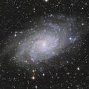 M33 - Triangulum Galaxy,                                pmumbower