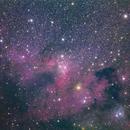 SH2-155 Cave Nebula,                                Hojong Lin