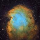 NGC 2174 Monkey Head Hubble Palette with GLIMPSE IR Animation,                                Eric Coles (coles44)