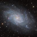 M33 - Triangulum Galaxy RGB/Halpha,                                Kai Albrecht
