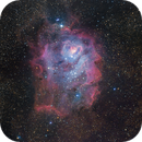 M8 The Lagoon Nebula,                                Kevin Parker