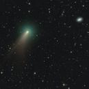 Comet C/2020 R4 ATLAS w Nearby Galaxy NGC4414,                                Dan Bartlett