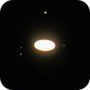 Saturn with satellites (20 june 2015, 23:32),                                Star Hunter