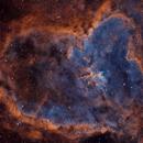 Heart Nebula - SHO,                                DeepSkyView