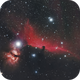 The Horsehead and Flame in HaRGB,                                Matt