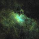 Eagle Nebula - Narrowband Hubble Palette,                                Johannes Schiehsl
