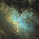 M16 - The Eagle Nebula, Close-Up Version [SHO],                                jdifool