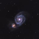 Messier 51,                                Franco Tognarini