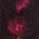 "IC 1805, IC 1848 - ""Heart & Soul"",                                David McGarvey"